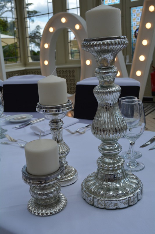 Mercury candle stick hire