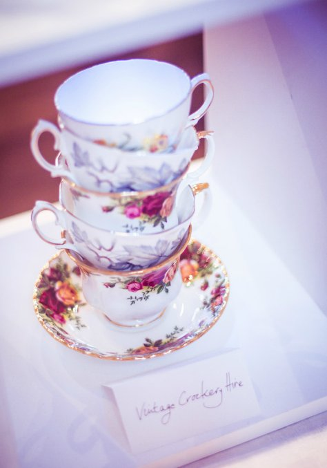 Nerissa Eve Weddings crockery hire