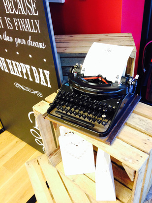 Vintage Typewriter hire