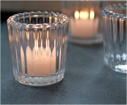 Hire ridged votive
