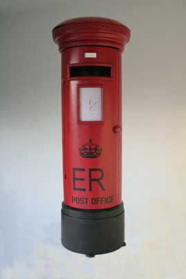 Mini post box hire