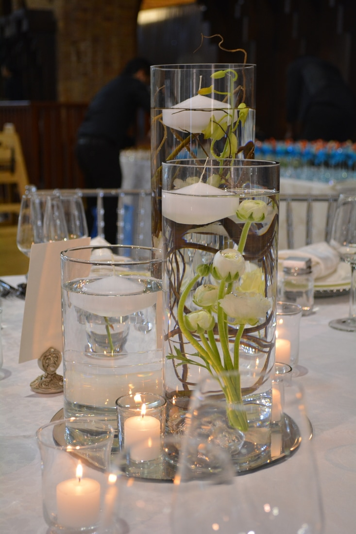 Candle Holders Votives Vases Candlesticks To Hire In The Midlands Leicestershire Nerissa