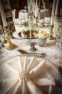 Decor hire wedding